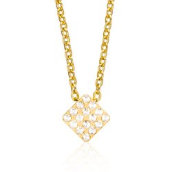 Halsband Brilliance Square - Kristall