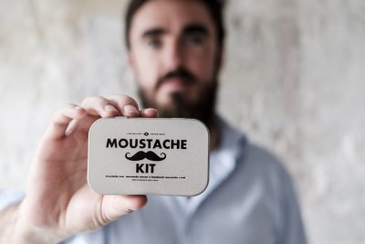 Moustache Grooming Kit