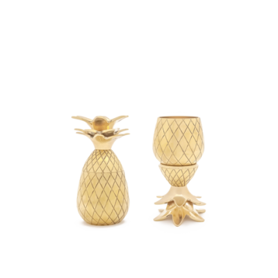 Pineapple Shot Glass W&P DESIGN - 2-pack